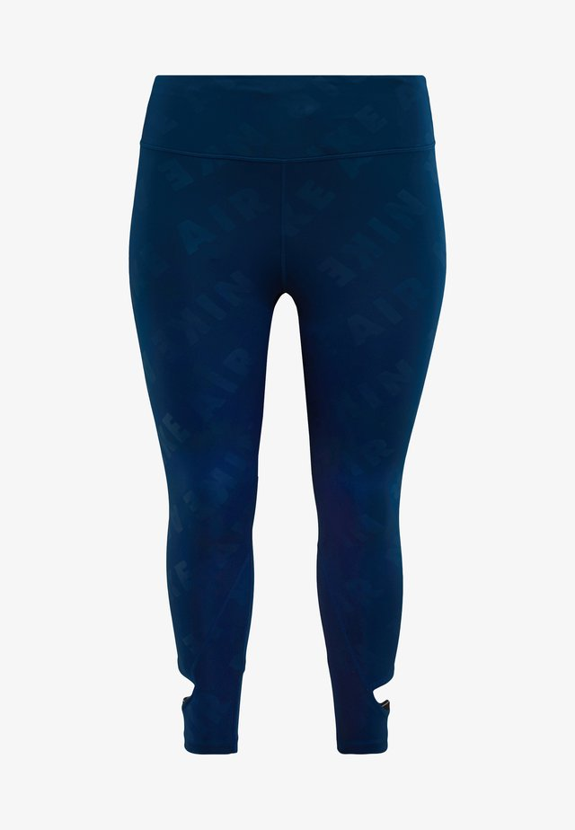 AIR PLUS - Tights - valerian blue/reflective silver