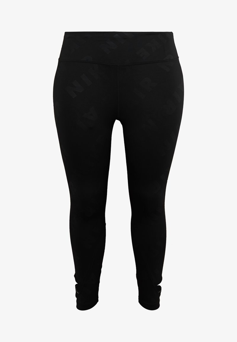 Nike Performance - AIR PLUS - Tights - black/silver