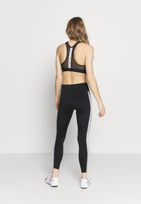 Nike Performance - ONE - Leggings - black/particle grey/white - 2
