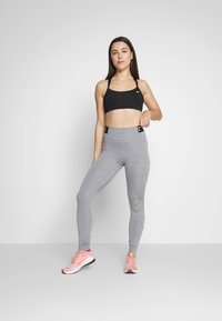 Nike Performance - ONE ICON CLASH - Tights - iron grey/black - 1