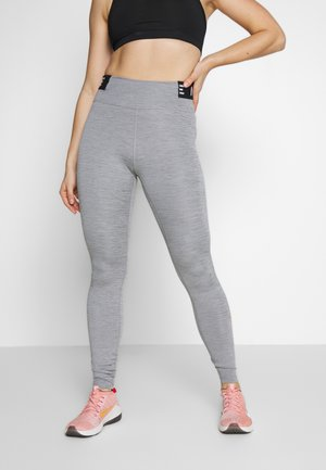ONE ICON CLASH - Leggings - iron grey/black