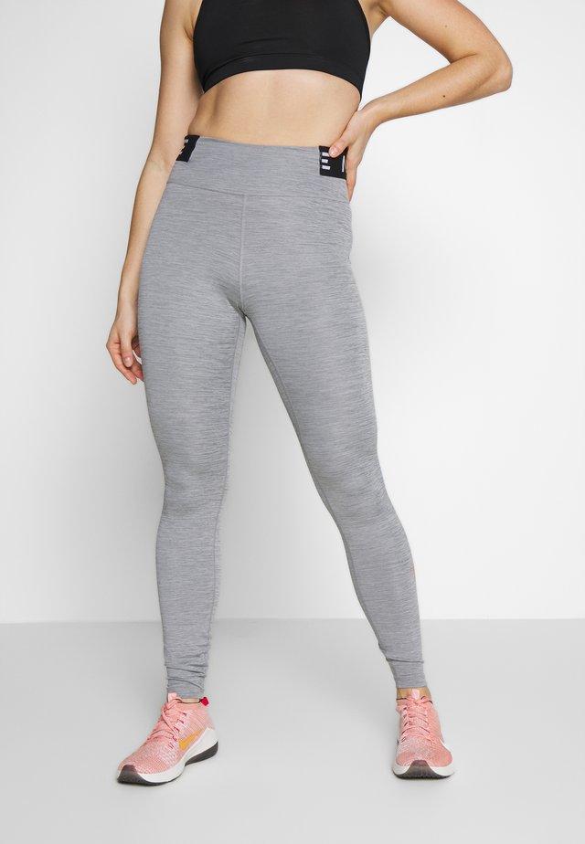 ONE ICON CLASH - Leggings - iron grey/black