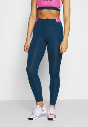 ONE ICON CLASH - Tights - valerian blue/cosmic fuchsia/limelight