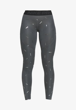 TOSS PRINT - Leggings - iron grey/black