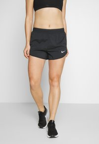 Nike Performance - TEMPO SHORT  - Urheilushortsit - black/anthracite/reflective silver - 0