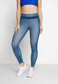 Nike Performance - ONE - Legginsy - valerian blue/black - 2