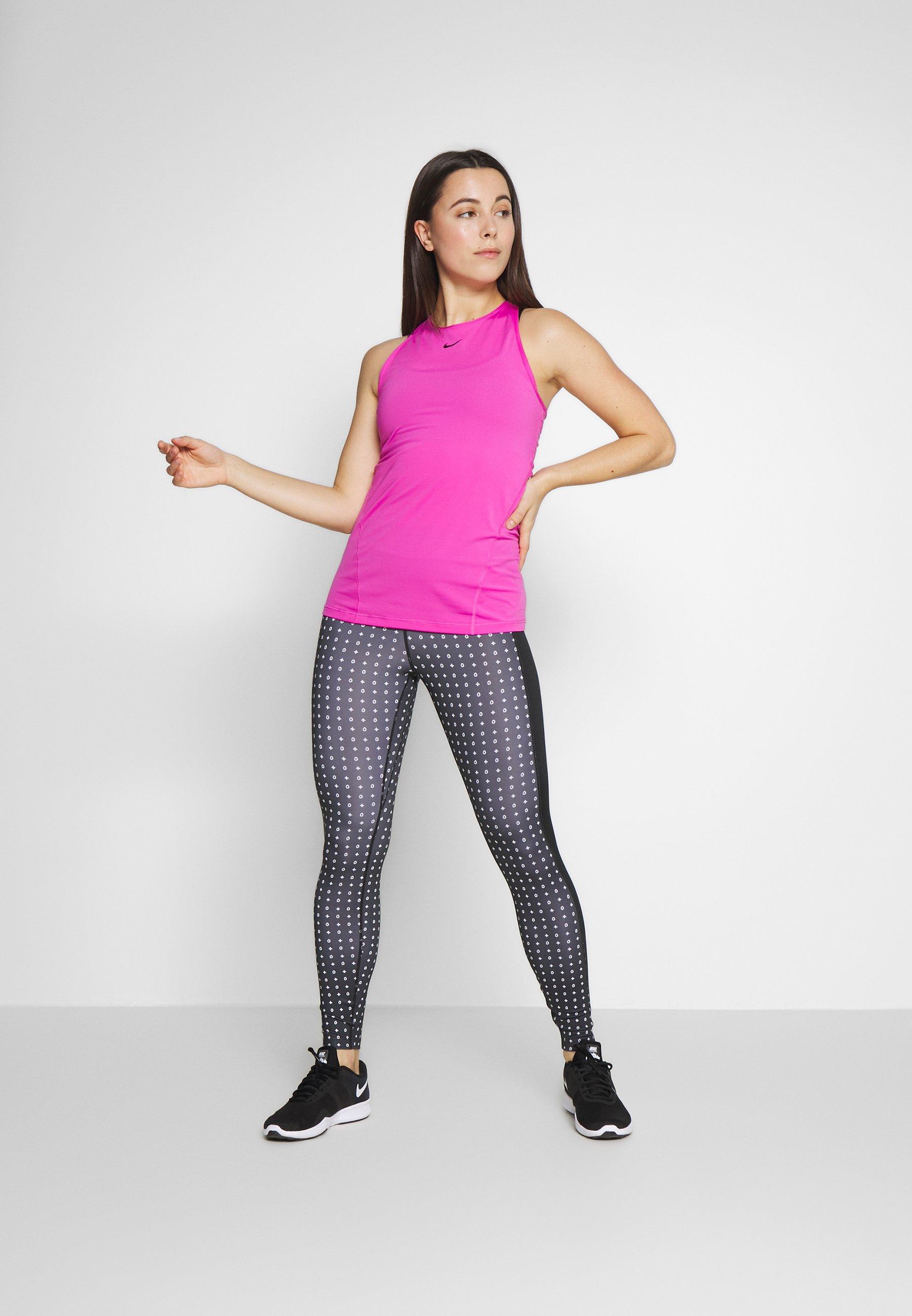 Nike Performance One - Leggings Black/white UK
