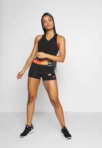 Nike Performance - COOL ICON CLASH - Leggings - black - 1
