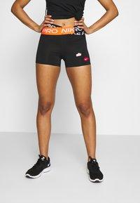 Nike Performance - COOL ICON CLASH - Leggings - black - 0