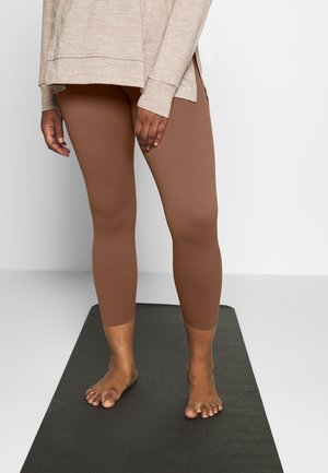 THE YOGA LUXE 7/8 PLUS - Collant - red bark/terra blush