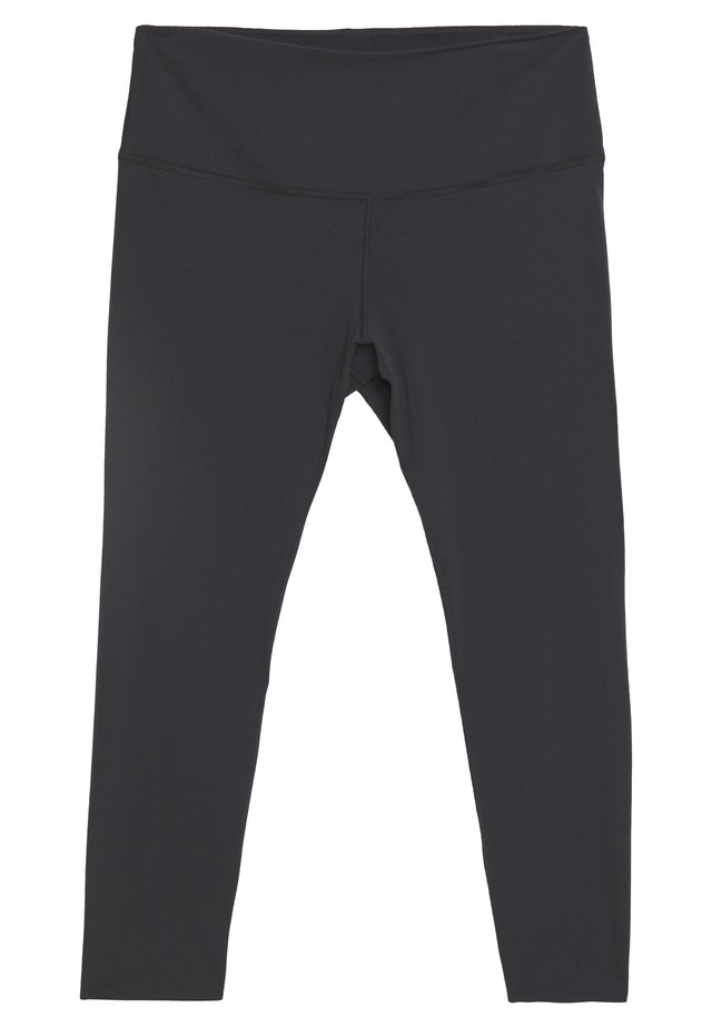 THE YOGA LUXE 7/8 PLUS - Tights - black/smoke grey