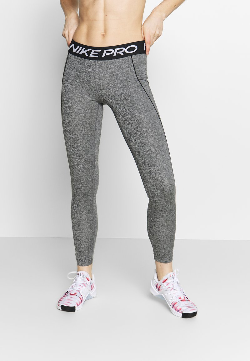 Nike Performance - W NP TGHT SPACE DYE - Tights - cerulean/fire pink/black/white