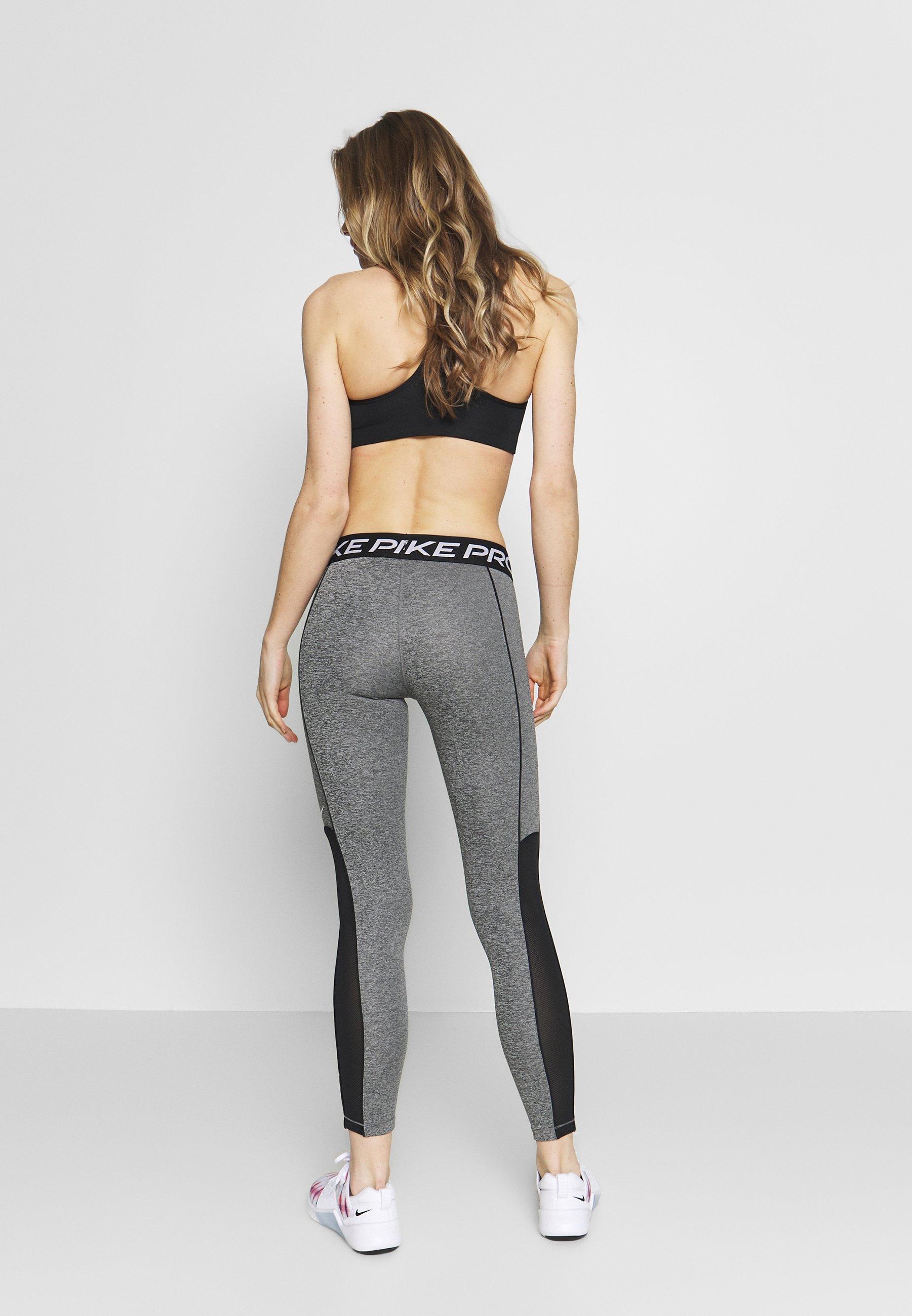 Nike Performance W NP TGHT SPACE DYE - Collant - cerulean/fire pink/black/white SSZKvRD0