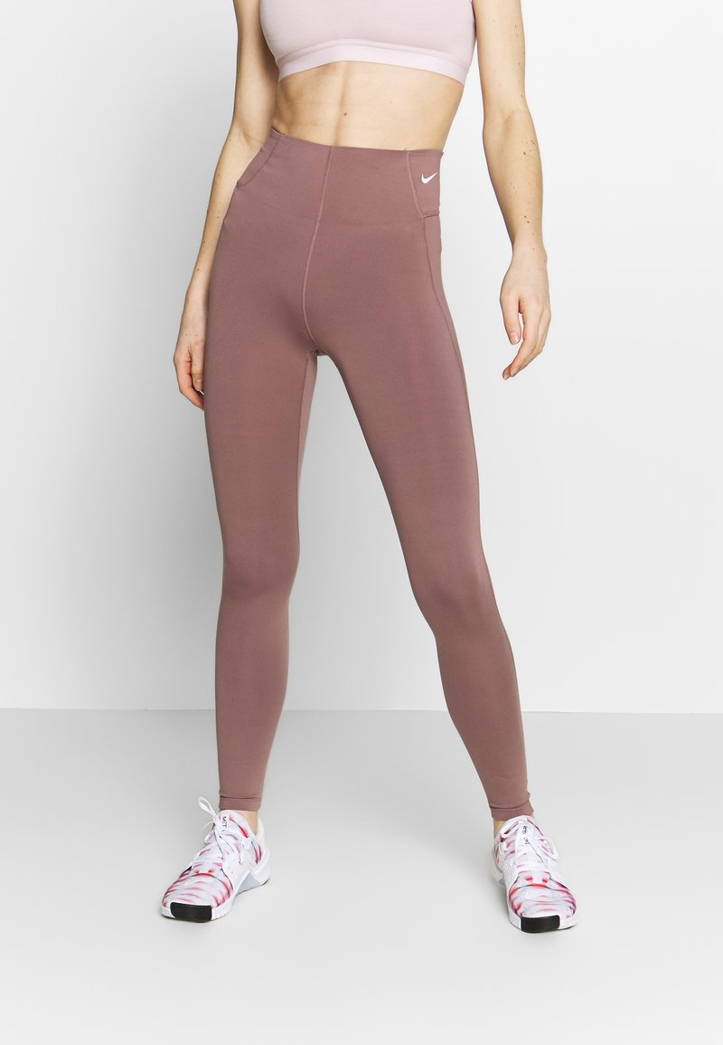 Nike Performance - Tights - smokey mauve/white