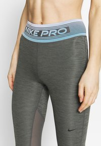 Nike Performance - Leggings - iron grey/black - 4