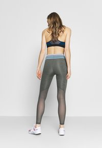Nike Performance - Leggings - iron grey/black - 2
