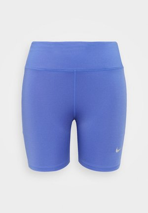 FAST SHORT PLUS - 3/4 sports trousers - sapphire/reflective silver