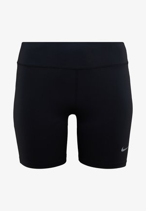 FAST SHORT PLUS - 3/4 sportbroek - black/silver