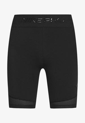 LUXE SHORT MIX - Legging - black