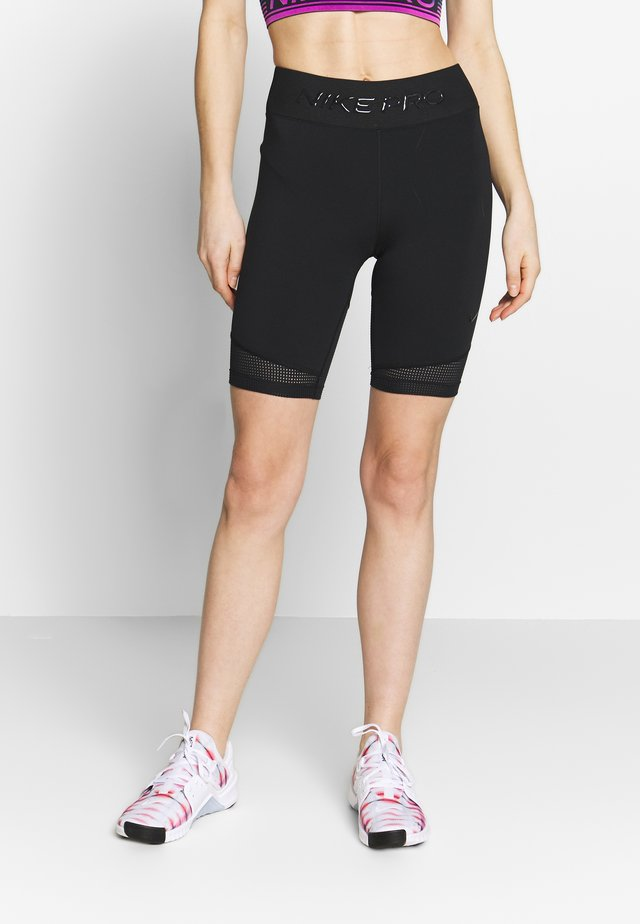 LUXE SHORT MIX - Trikoot - black