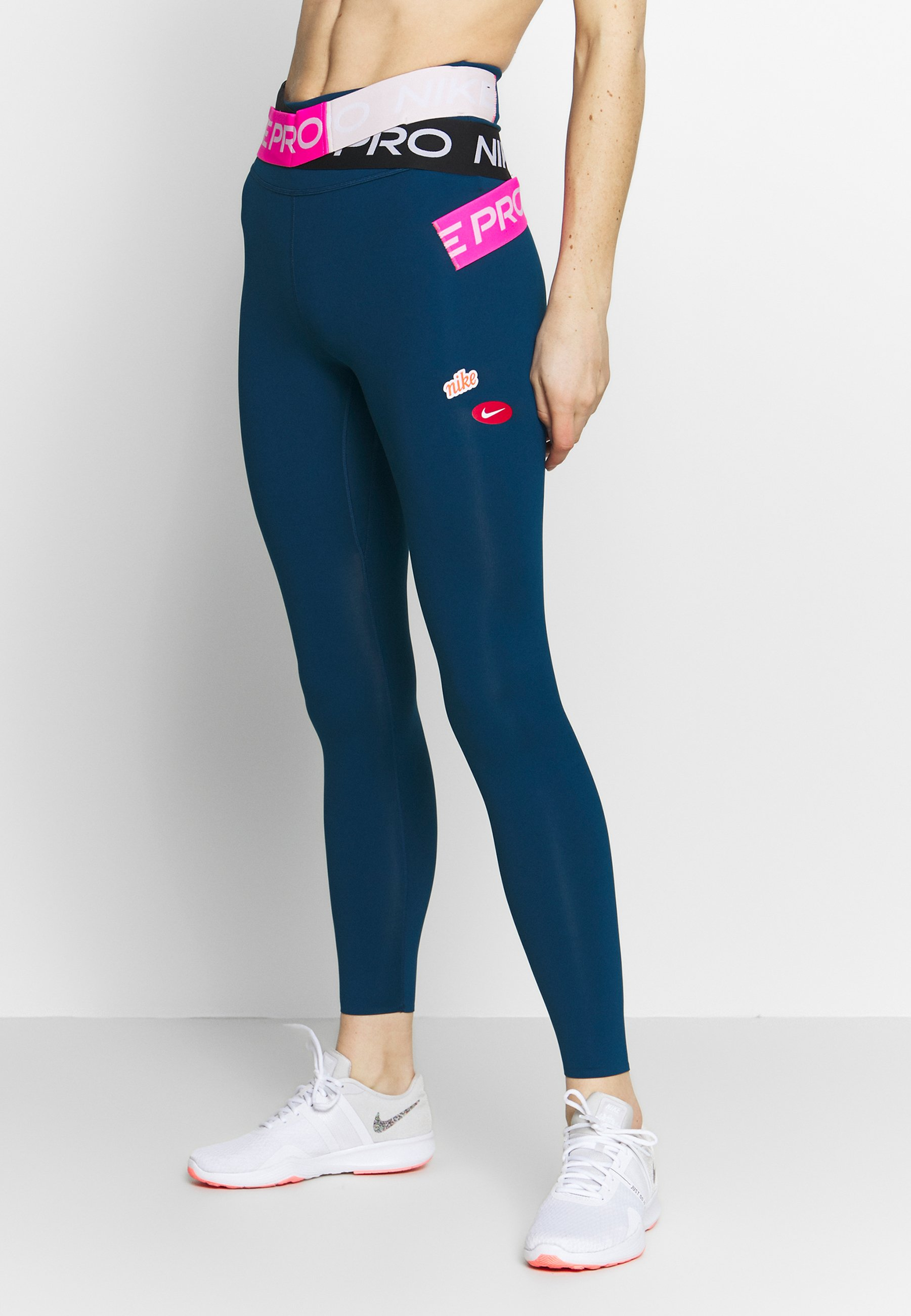Nike Performance ONE LUXE WOW - Tights - valerian blue