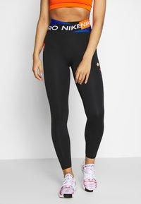 Nike Performance - ONE LUXE WOW - Legging - black - 0