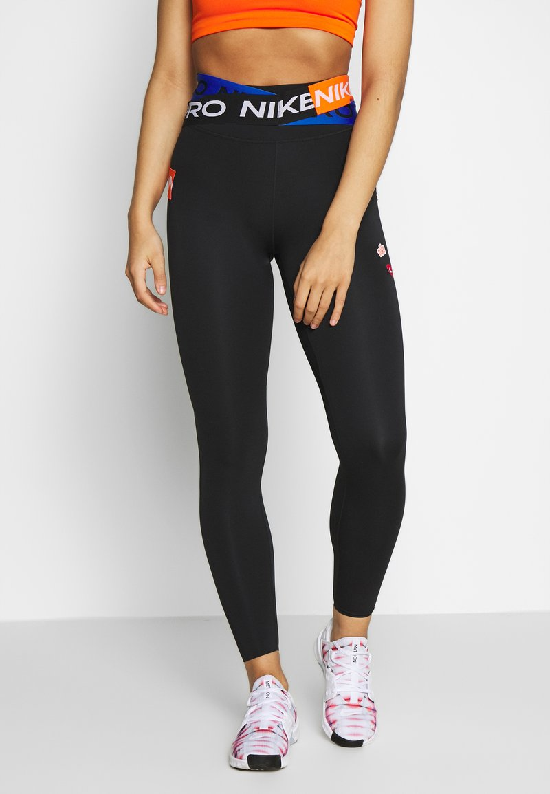 Nike Performance - ONE LUXE WOW - Legging - black