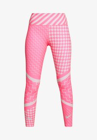 Nike Performance - EPIC LX  - Legginsy - digital pink/reflective silver - 4