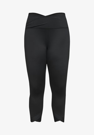 WRAP PLUS - Tights - black/smoke grey