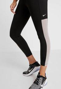 Nike Performance - ONE CROP  - Tights - black/atmosphere grey/white - 3