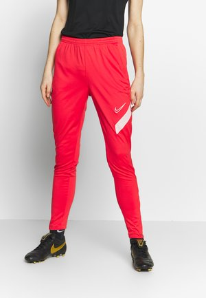DRY ACADEMY PANT - Tracksuit bottoms - track red / washed coral