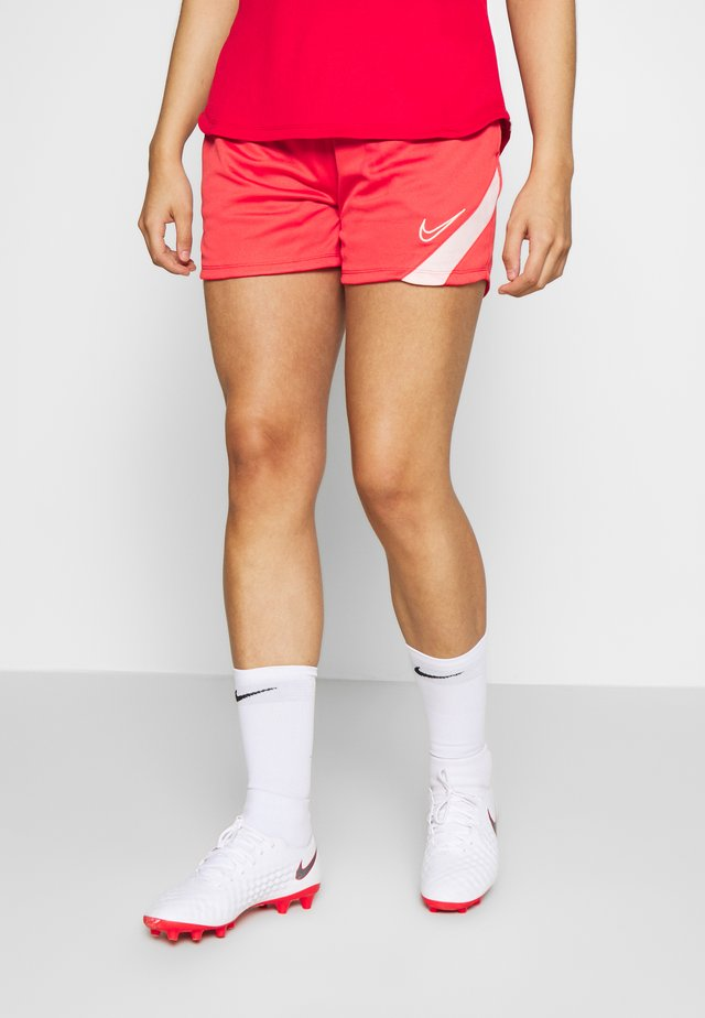 DRY ACADEMY  - Pantaloncini sportivi - track red/washed coral