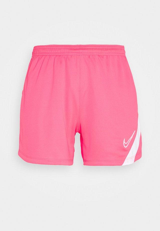DRY ACADEMY  - kurze Sporthose - hyper pink/white/white
