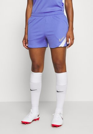 DRY ACADEMY  - Sports shorts - sapphire/white/topaz gold