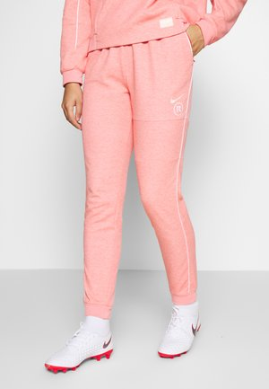 Tracksuit bottoms - track red/white/washed coral