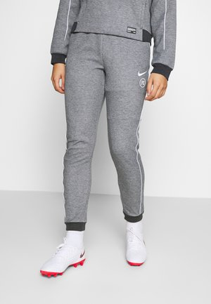 Tracksuit bottoms - black/heather/white