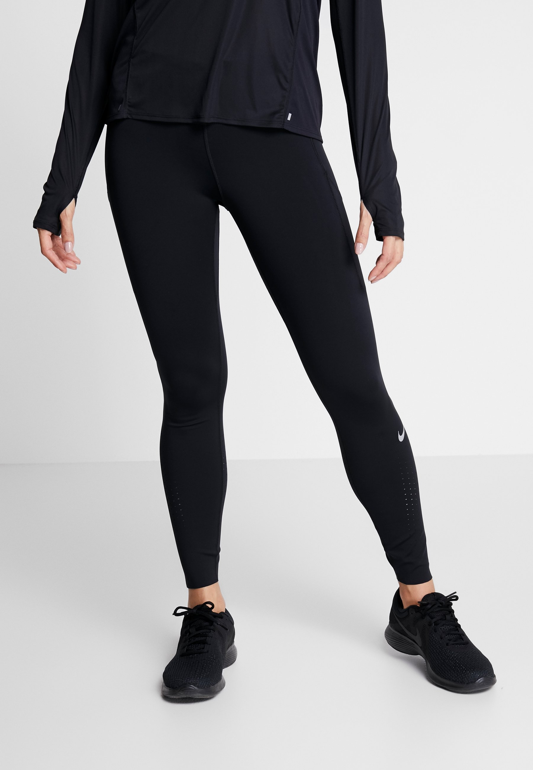 Nike Performance ONE DAISY Tights blacklaser blue