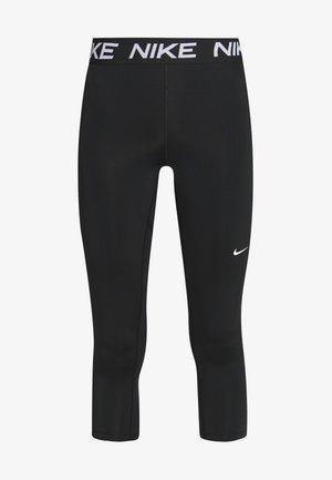 3/4 sportbroek - black/white