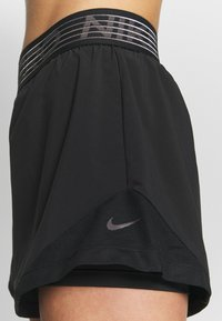 Nike Performance - SHORT  - Sports shorts - black/thunder grey - 4