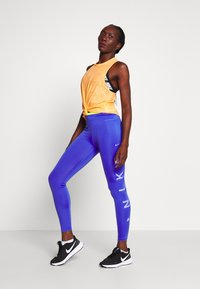 Nike Performance - ONE 7/8  - Legginsy - sapphire/lemon/light thistle - 1