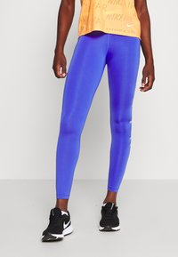 Nike Performance - ONE 7/8  - Legginsy - sapphire/lemon/light thistle - 0