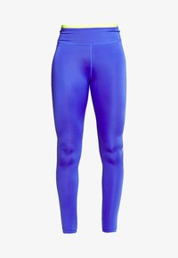 Nike Performance - ONE 7/8  - Legginsy - sapphire/lemon/light thistle - 4
