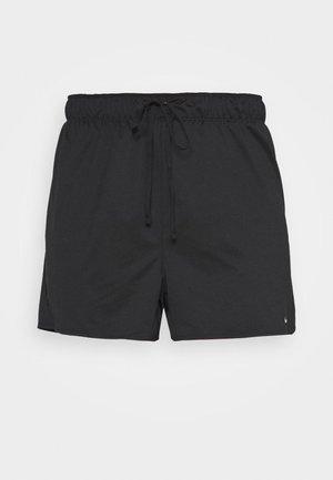 PLUS - Sports shorts - black/particle grey