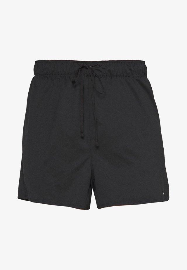 PLUS - Pantalón corto de deporte - black/particle grey