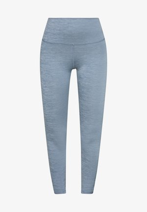 YOGA RUCHE 7/8 - Legging - diffused blue/diffused blue
