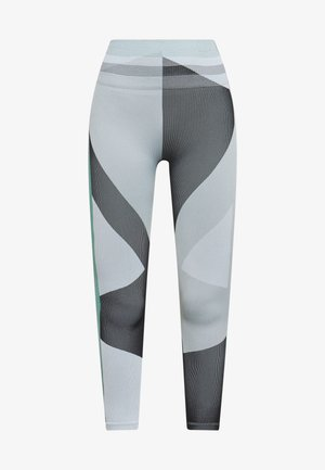 SEAMLESS SCULPT 7/8 - Legging - grey fog/black/white