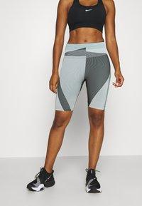 Nike Performance - Tights - grey fog/black/white - 0