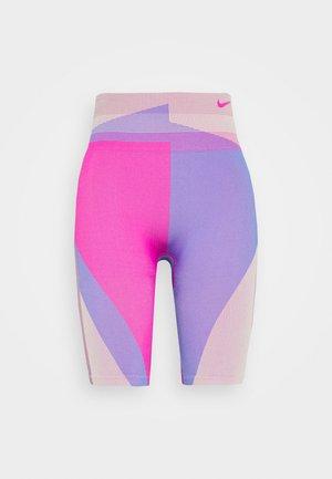 Legging - fire pink/sapphire
