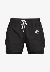Nike Performance - 2IN1 SHORT - Korte broeken - black/white/reflective silver