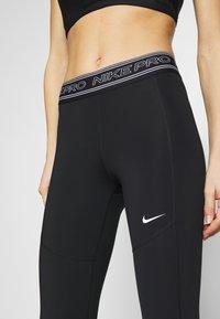 Nike Performance - TIGHT 7/8  - Leggings - black/white - 6